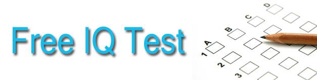 Free IQ Test | Free Online IQ Test | IQTestExperts com